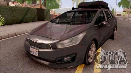 Kia Ceed Lowpoly pour GTA San Andreas