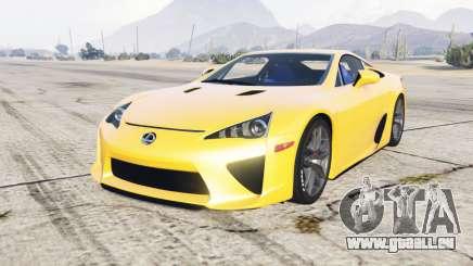 Lexus LFA 2010 pour GTA 5
