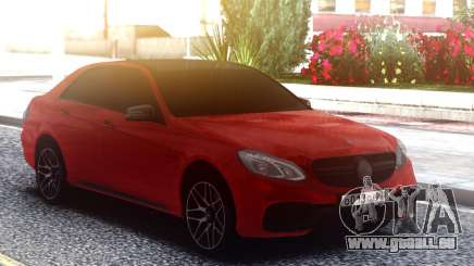 Mercedes-Benz E63 AMG W212 Red pour GTA San Andreas