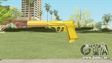 Wolfram PP7 Gold Silenced (007 Nightfire) pour GTA San Andreas