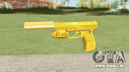 Wolfram P2K Gold Silenced (007 Nightfire) pour GTA San Andreas