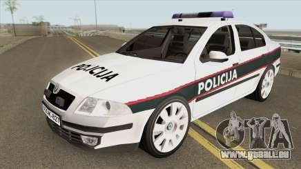 Skoda Octavia BiH POLICIJA 2006 pour GTA San Andreas