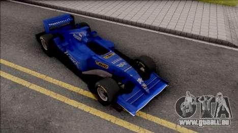 Prost Peugeot AP03 F1 2000 pour GTA San Andreas