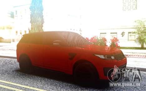 Range Rover Sport SVR pour GTA San Andreas