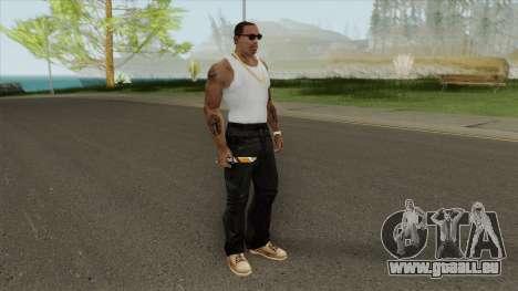 Knife (PBST Series) From Point Blank pour GTA San Andreas