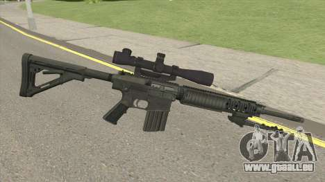 KAC SR-25 Semi Automatic Sniper Rifle pour GTA San Andreas