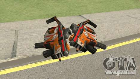 Kriss Super (PBST Series) From Point Blank pour GTA San Andreas