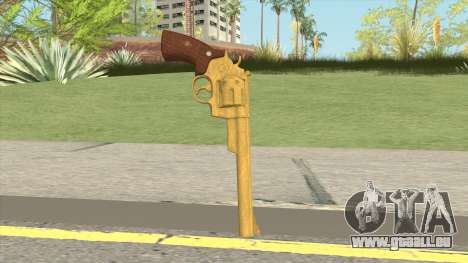 Smith And Wesson M29 Revolver (Gold) pour GTA San Andreas