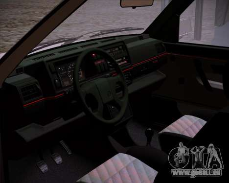 Volkswagen Golf 2 GTI Transit Plates für GTA San Andreas