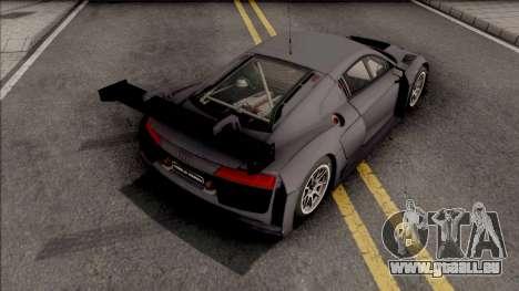 Audi R8 LMS 2016 Paint Job Preset 2 pour GTA San Andreas
