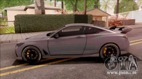 Infiniti Q60 Project Black S 2018 pour GTA San Andreas