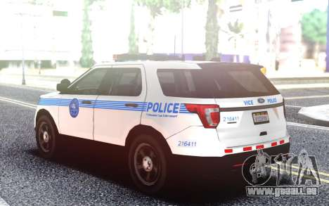 Ford Explorer Miami Style pour GTA San Andreas