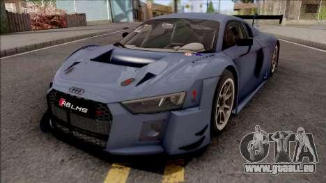Audi R8 LMS 2016 Paint Job Preset 1 pour GTA San Andreas