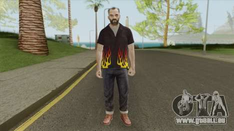 Trevor Phillips Skin From GTA V pour GTA San Andreas