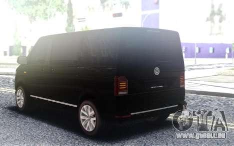 Volkswagen T Transporter T6 2.0 BiTDi 204PS EU6 pour GTA San Andreas