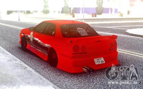 Nissan Skyline R34 4 Doors Sedan für GTA San Andreas