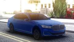 BMW 750Li Blue Original pour GTA San Andreas