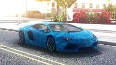 Lamborghini Aventador Underwater pour GTA San Andreas