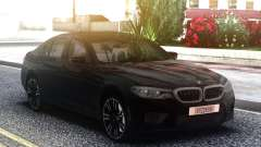 BMW M5 F90 Black Sedan pour GTA San Andreas