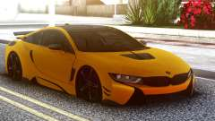BMW I8 Yellow für GTA San Andreas