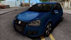 Volkswagen Golf GTI Blue pour GTA San Andreas