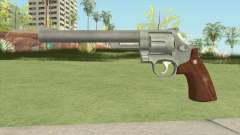 Smith And Wesson M29 Revolver (Chrome) pour GTA San Andreas