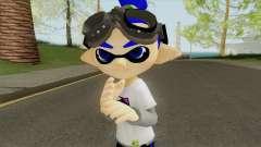Inkling Boy Blue (Splatoon) pour GTA San Andreas