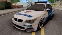 BMW M5 E60 Magyar Rendorseg
