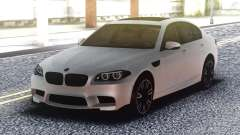 BMW M5 F10 Original White pour GTA San Andreas
