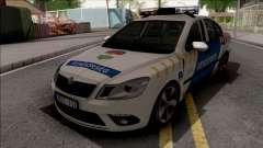 Skoda Octavia MK2 Facelift Magyar Rendorseg pour GTA San Andreas