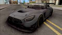 Mercedes-AMG GT3 2015 Paint Job Preset 2 pour GTA San Andreas