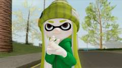Inkling Girl Green (Splatoon) für GTA San Andreas