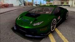 Lamborghini Huracan GT3 2015 Paint Job Preset 2 für GTA San Andreas