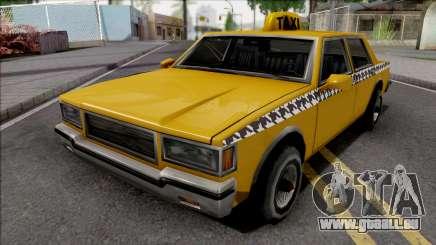 Declasse Taxi 1987 pour GTA San Andreas