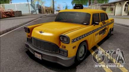 GTA III Declasse Cabbie VehFuncs Style pour GTA San Andreas