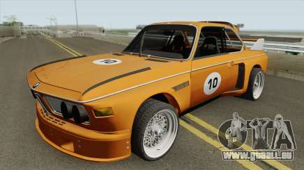 BMW 3.0 CSL 1975 (Orange) für GTA San Andreas
