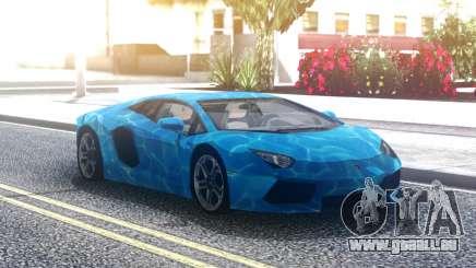 Lamborghini Aventador Underwater für GTA San Andreas