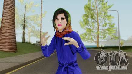 Iranian Girl Retextured pour GTA San Andreas