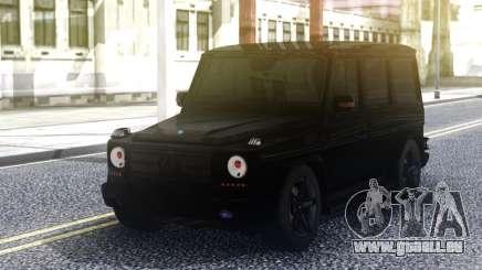Mercedes-Benz G55 AMG Black Original pour GTA San Andreas