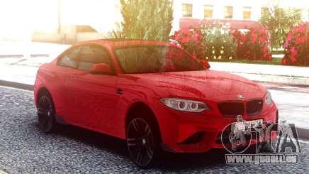 BMW M2 Red Original für GTA San Andreas