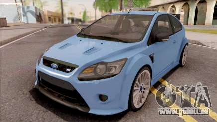 Ford Focus RS 2010 Blue pour GTA San Andreas