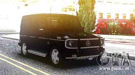 Mercedes-Benz G55 AMG Black Edition pour GTA San Andreas