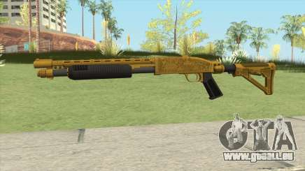 Shrewsbury Pump Shotgun (Luxury Finish) GTA V V4 für GTA San Andreas