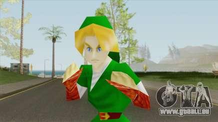 Adult Link (Legend of Zelda Ocarina Of Time) V1 pour GTA San Andreas