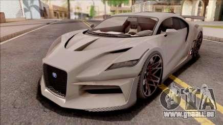 GTA V Truffade Thrax Divo Style IVF für GTA San Andreas