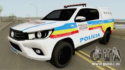 Toyota Hilux 2017 (PMMG) pour GTA San Andreas