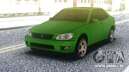 Lexus IS300 Green pour GTA San Andreas