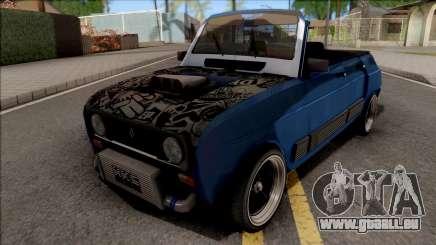 Renault 4 GTL Custom pour GTA San Andreas