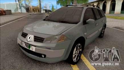 Renault Megane 2009 Wagon Furgon Tranzit pour GTA San Andreas