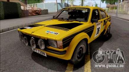Opel Kadett C GTE Rally 1976 für GTA San Andreas
